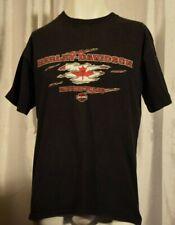 Vtg Harley Davidson Spankys Peterborough ON T-Shirt Mens M  Motorcycle
