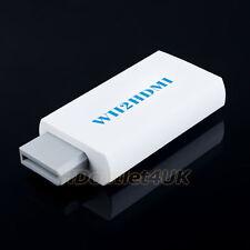 WII A HDMI Adattatore convertitore da 480P 3,5 MM AUDIO WII-LINK SPEDIZIONE GRATUITA