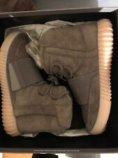 AUTHENTIC ADIDAS YEEZY BOOST 750 RARE SIZE 7 LIGHT BROWN CHOCOLATE GUM BY2456