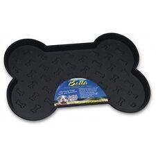 Loving Pets Bella Spill-proof Pet Mat for Dogs Large Black