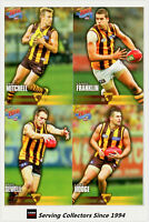 2010 Select AFL Champions Trading Card Base Team Set (12 Cards)-Hawthorn