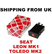 HAZARD WARNING LIGHT INDICATOR SWITCH RELAY RED BUTTON SEAT LEON MK1 TOLEDO MK2