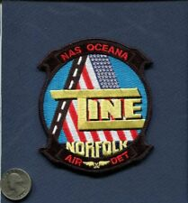 Line Division ABH NAS NAVAL AIR STATION OCEANA US Navy Squadron Base Patch