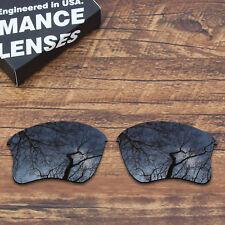 T.A.N Polarized Replacement Lenses for-Oakley Flak Jacket XLJ Black OO9009
