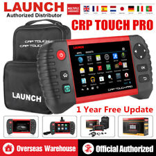 Launch CRP Touch Pro Car Diagnostic Tool Full System OBD2 Scanner EPB SAS DPF CA