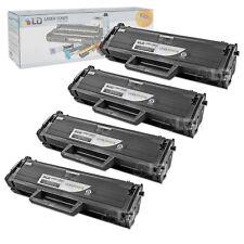 LD © Fits Samsung MLT-D101S Set of 4 Black Laser Toner Cartridges