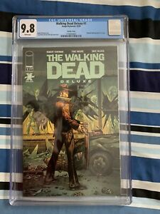 The Walking Dead Deluxe 1 - Variant Edition -CGC 9.8