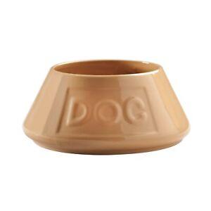 Mason Cash 21cm Stoneware Cane Non Tip Lettered Dog Puppy Feeding Water Bowl