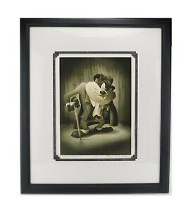 TAZ LOONEY TUNES Harry Sabin Alan Bodner Portrait Series Limited Edition Art