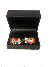 Kappa Alpha Psi Fraternity Crest Cuff Links-New!
