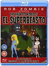 Rob Zombie Presents The Haunted World of El Superbeasto - Blu-ray Region 2 BRAND
