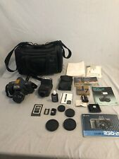 Yashica Kyocera Film Camera 200-Af 35Mm Slr Untested With Accessories
