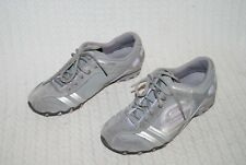 Ladies Skechers Trainers-Grey/Silver-Size 5.