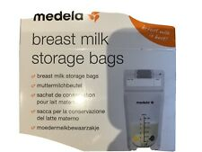 Medela Breast Milk Storage Bags x 25 New Without Box