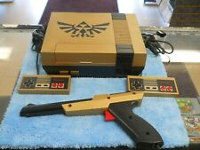 Custom Zelda Original NES Nintendo Entertainment System Console & New Pins
