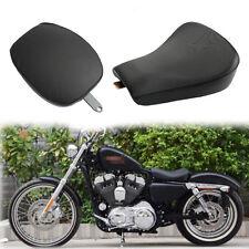 Conducteur + Passager Selle Siège Housse Pour Harley Sportster XL 883 1200 72 48