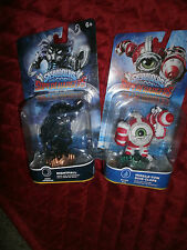 SKYLANDERS SUPERCHARGERS SET OF 2 MISSILE TOW DIVE CLOPS & NIGHTFALL