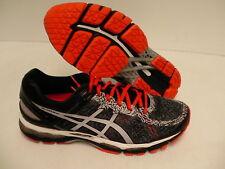 Asics men's gel kayano 22 lite show running shoes carbon cherry tomato size 10.5