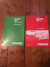 Mazda RX-7 Wiring Diagram Right Hand Drive X2 Books