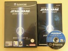 Nintendo Gamecube Game * STAR WARS JEDI KNIGHT II JEDI OUTCAST * Complete 25556