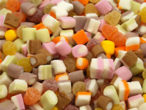 BARRATTS DOLLY MIXTURES SWEETS ideal for party bags, wedding,christenings ,