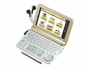 Sharp color electronic dictionary Brain Gold system PW-A7300-N Gift