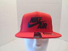 NIKE AIR PIVOT TRUE SNAPBACK CAP HAT RED BLACK 729497 657 ADULT NWT