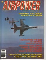 "Airpower Magazine January 1985 F-85 ""Goblin"" Fighter - Airplane Mag 55 pages /q5"