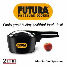 Hawkins Futura 2 Liter Anodized Pressure Cooker FP20 Engineered for Extra safety