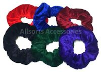 Large Velvet Scrunchie Set Hair Scrunchies Elastic Scrunchy Hair Bobbles