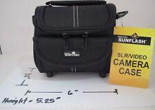 SLR / VIDEO Shoulder Carry Camera Case ZAR-20 by Digital Sunflash - Black