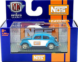 M2 Machines 🍀 O'reilly 🍀 Exclusive 1:64 NOS  '53 VW Beetle Deluxe USA Model