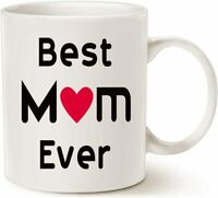 Best Mom Ever Coffee Mug Mother'S Day Gifts For Mom Birthday Funny Gift Cup