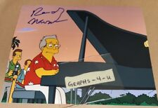 Randy Newman Signed Autograph COA The Simpsons Proof