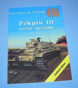 PzKpfw III - Variants  Medium german tank / Panzer III, Bergepanzer, Tauchpanzer
