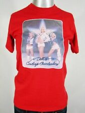 HK2210 VINTAGE 1978 **DALLAS COWBOYS CHEERLEADERS - BLONDE** RED T-SHIRT - 29