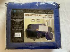 Microfiber Quilted Pet Furniture Protector Loveseat 70 x 120 - Navy
