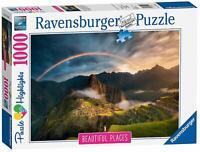 Ravensburger Jigsaw Puzzle RAINBOW OVER MACHU PICCHU -1000 Piece