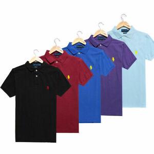 Herren RalphLauren T-Shirt Pony Classic Edition Herren Poloshirt Brandneu