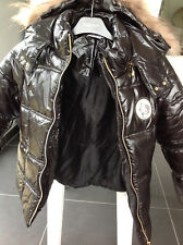 Victoria Couture girl down black jacket