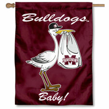 Mississippi State University New Baby Born Decorative House Flag