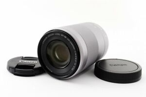 Canon EF-M 55-200mm f/4.5-6.3 IS STM Zoom Lens Silver [Exc From Japan [jkh]