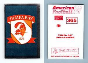 Tampa Bay Buccaneers #365 American Football 1990-91 Panini Foil Sticker