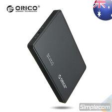 "ORICO 2588US3 USB 3.0 External 2.5"" SATA HDD Hard Drive Enclosure Case Tool-Free"