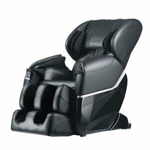 New Electric Full Body Shiatsu Massage Chair Recliner Zero Gravity w/Heat 77