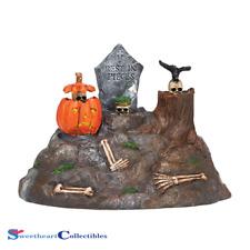 Department 56 Halloween Village Animated Skulls 2014