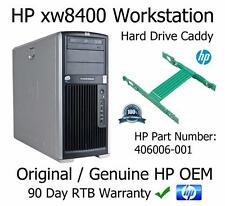 HP 406006-001 xw8400 xw8600 station disque dur sata caddy disque dur tray mount