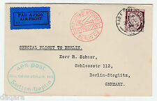 BC.473 - Ireland cover, Special Airmail, 1932, Galway to Berlin