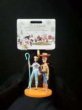2019 Disney Toy Story 4 Woody and Bopeep Sketchbook Ornament Brand New with Tags