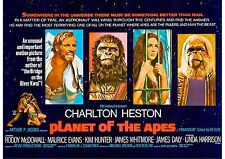 Planet of the Apes - A4 Laminated Mini Movie Poster - Roddy McDowall